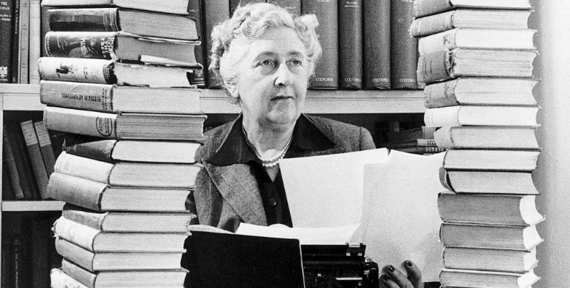 Agatha Christie is the best-selling author of all time